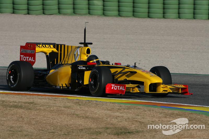 Robert Kubica, Renault F1 Team, test yeni Bell, kask