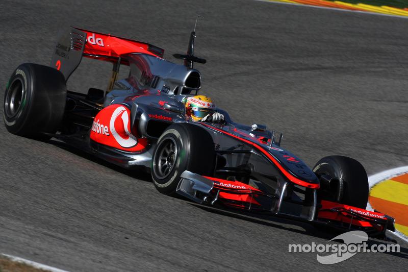 Lewis Hamilton fue el más rápido