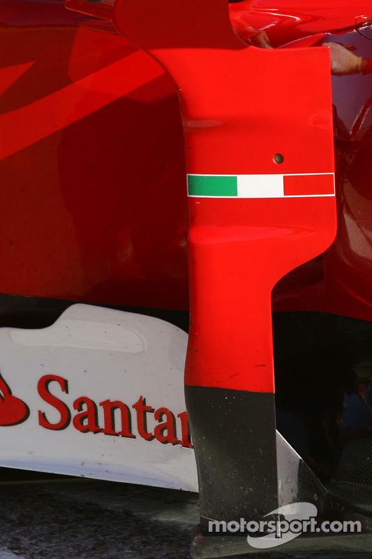 Scuderia Ferrari sidepod