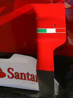 Scuderia Ferrari side Pod detail