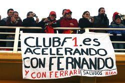 fans van Fernando Alonso, Scuderia Ferrari