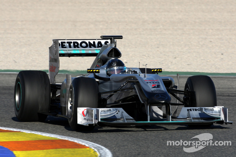 2010: Formel-1-Test in Valencia