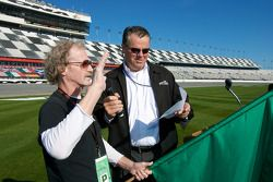 Speedweeks 2010 cérémonie de lancement : Robin Braig, président du Daytona International Speedway, a