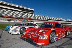 Speedweeks 2010 lancering: #01 Chip Ganassi Racing with Felix Sabates BMW Riley: Max Papis, Scott Pr