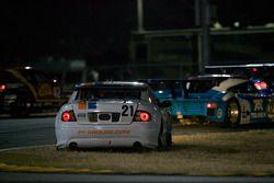 Sortie de piste pour #21 Matt Connolly Motorsports Pontiac GTO.R: Mauro Casedei, Gabrio Rosa