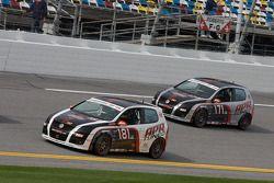 #181 APR Motorsport Volkswagen GTI: Josh Hurley, Kevin Stadtlener, #171 APR Motorsport Volkswagen GT