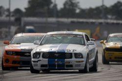 #57 Rehagen Racing Ford Mustang GT: Nick Longhi, Joe Masessa