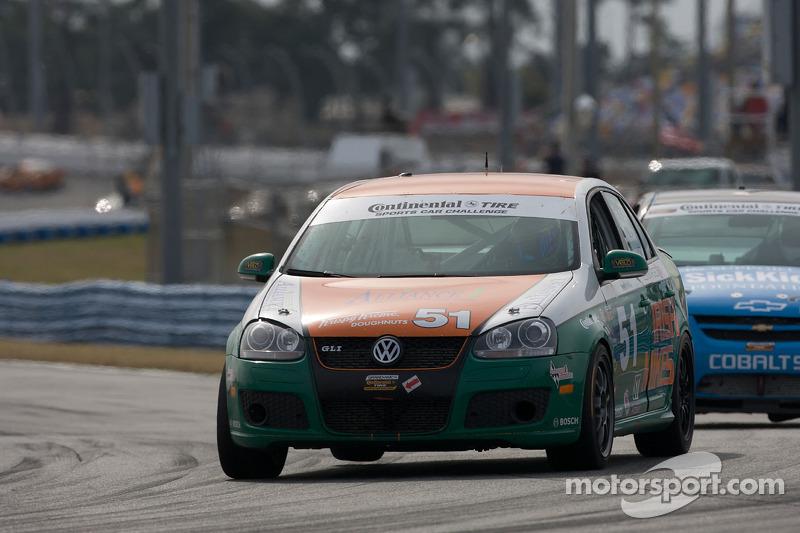 #51 Irish Mike Racing Volkswagen Jetta: Todd Buras, Jack Corthell, Stan Wilson