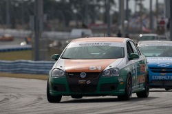#51 Irish Mike Racing Volkswagen Jetta: Todd Buras, Jack Corthell, Stan Wilson