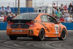 #75 Compass360 Racing Honda Civic SI: Ryan Eversley, Zach Lutz