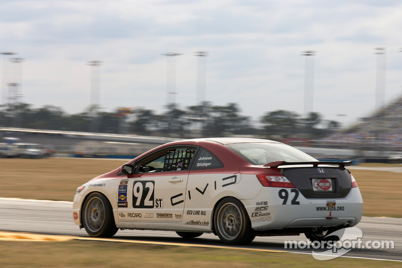 #92 HART Honda Civic SI: Chad Gilsinger, Bryan Johnson, John Schmitt