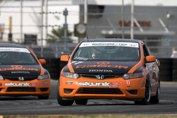 #77 Compass360 Racing Honda Civic SI: Benoit Theetge, Donald Theetge