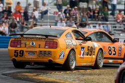 #59 Rehagen Racing Ford Mustang GT: Andrew Caddell, Ken Wilden