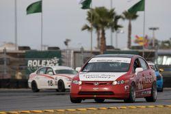 #67 CA Sport Honda Civic SI: Ernie Becker, Lara Tallman