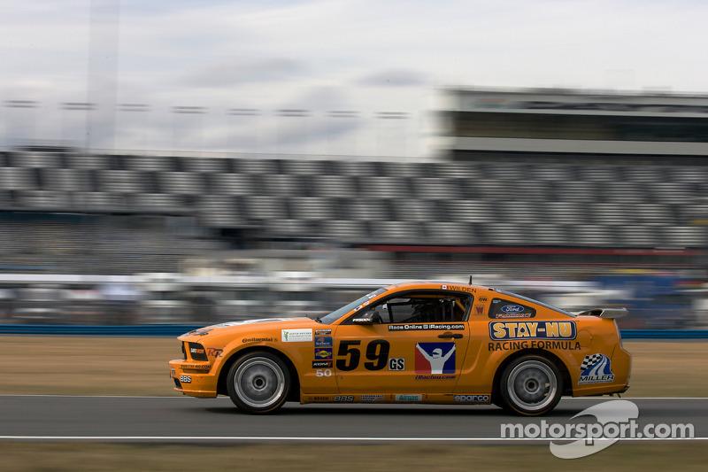 #59 Rehagen Racing Ford Mustang GT: Andrew Caddell, Ken Wilden