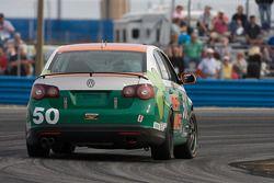 #50 Irish Mike Racing Volkswagen Jetta: Mario Hart, Carlos Lira