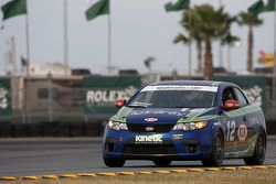#12 Kinetic Motorsports KIA Forte Koup: Adam Burrows, Trevor Hopwood