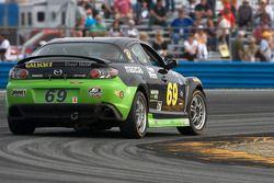 #69 Pirate Motorsports Mazda RX-8: Dan Harding, Allen Milarcik