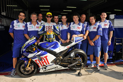 Valentino Rossi y la nueva Yamaha YZR-M1