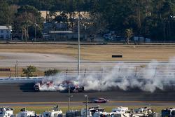 Bill Baird, Steve Blackburn, Tim George Jr. et Russ Dugger ont été impliqué dans un accident