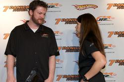 JR Motorsports press conference: Dale Earnhardt Jr. and Danica Patrick