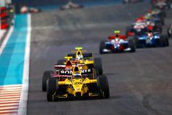 Michael Herck lidera a Alexander Rossi y Giacomo Ricci
