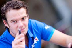 Giedo van der Garde rijdt voor Alexander Rossi