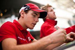 Jules Bianchi en Sam Bird