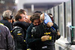 DPR team viert podium Michael Herck en Giacomo Ricci