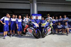 Présentation de livrée Fiat Yamaha Team