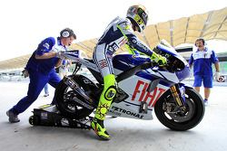 Valentino Rossi of Fiat Yamaha Team