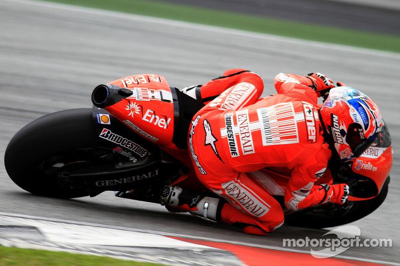 Casey Stoner of Ducati Marlboro Team