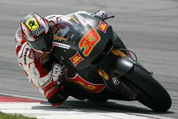 Marco Melandri van San Carlo Honda Gresini