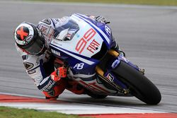 Jorge Lorenzo of Fiat Yamaha Team
