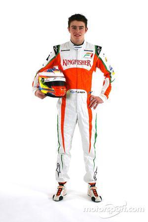 Paul Di Resta Force India F1 derde rijder