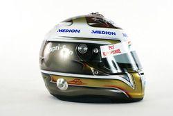 Шлем Адриана Сутиля, Force India F1