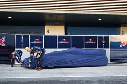 Mark Webber, Red Bull Racing ve Sebastian Vettel, Red Bull Racing unveil yeni Red Bull RB6 Launch