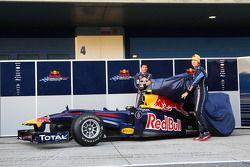 Марк Уэббер и Себестьян Феттель,презентация Red Bull Racing RB6