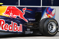 The new Red Bull RB6, rear wing engine cover