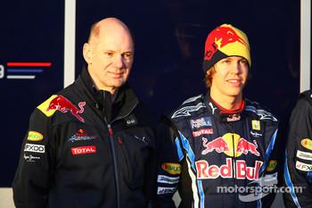 Adrian Newey and Sebastian Vettel