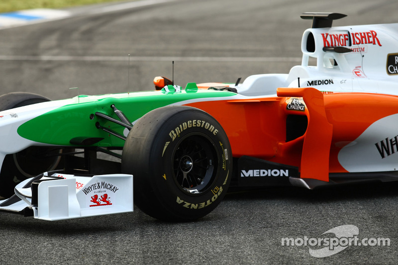 Force India VJM03 lansmanı
