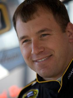 Ryan Newman, Stewart-Haas Racing Chevrolet talks to the media