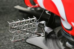 Sensors op de McLaren Mercedes, MP4-25