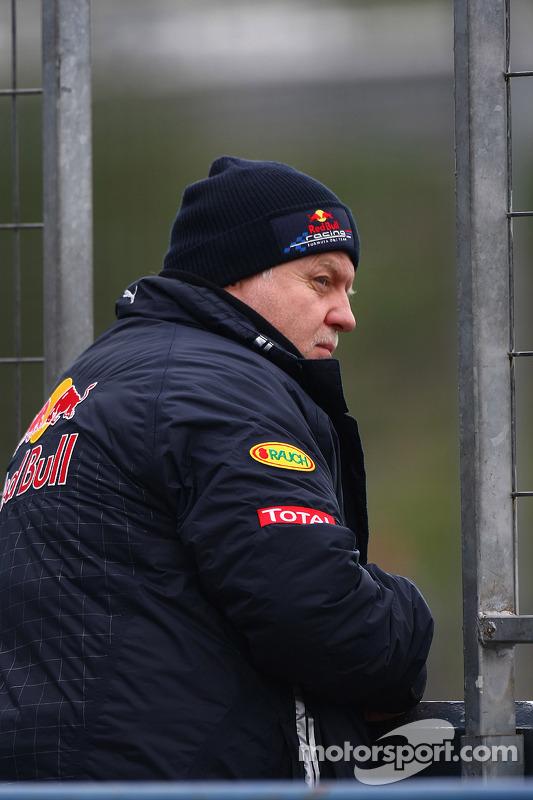 Norbert Vettel, père de Sebastian Vettel, Red Bull Racing
