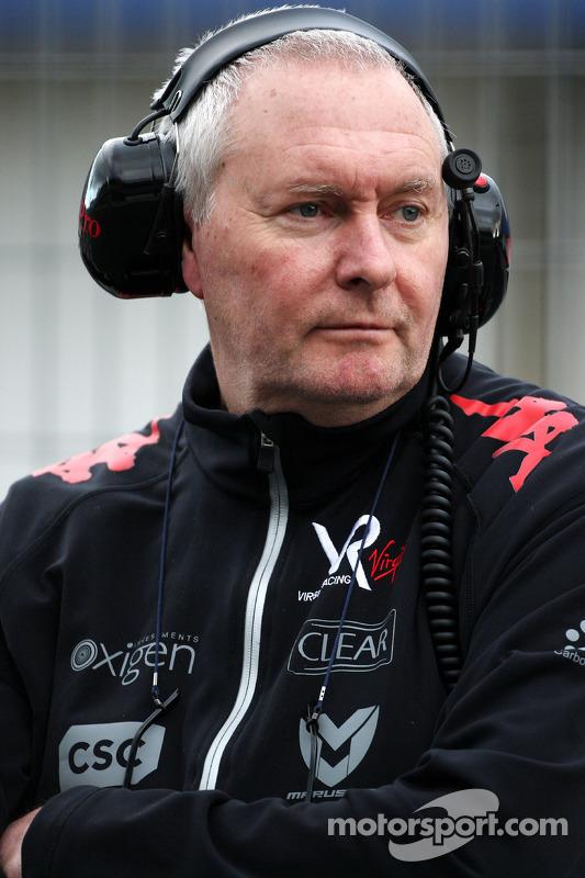 John Booth, Virgin Racing Sportief directeur