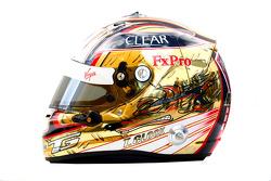 Timo Glock, Virgin Racing helmet