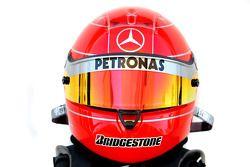 Casco de Michael Schumacher, Mercedes GP Petronas
