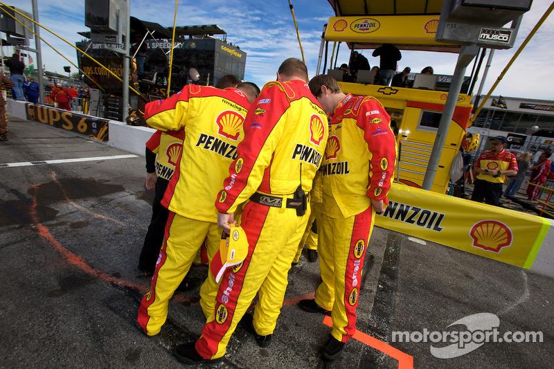 Les mécaniciens de Richard Childress Racing Chevrolet