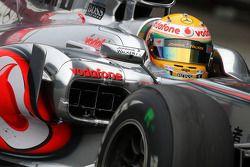 Льюис Хэмилтон, McLaren Mercedes с сенсорной решеткой