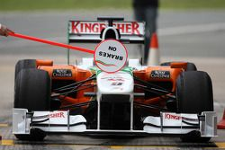 Адриан Сутиль, Force India F1 Team, VJM-03